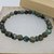 African Turquoise and Bronze Pewter Bead Bracelet