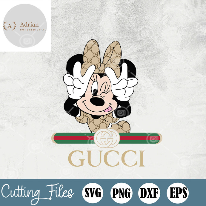 Minnie Mouse Fashion Gucci, Minnie Mouse Gucci, Mickey Mouse Gucci, Disneyland,