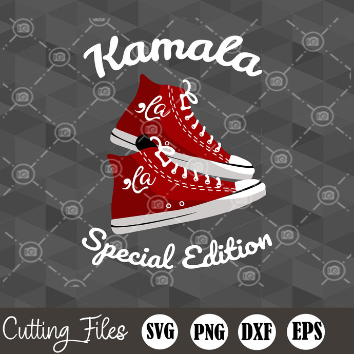 Chucks And Pearls SVG, Pearl Necklaces SVG, Converse SVG, Kamala Special Edition