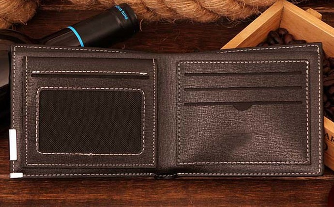 amoung us Leather Wallet