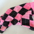 XS Pink Argyle Fleece Romper