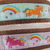 Softie Unicorn Tag Collars up to 11""
