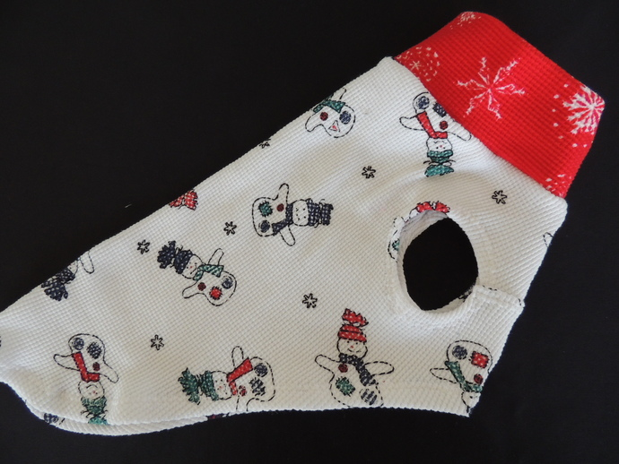 SMALL Thermal Cotton Snowman Vest