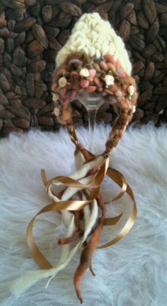Newborn Woolly Tegan Pixie Bonnet -Carmella