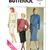 Butterick 3413 Misses Top, Skirt 80s Vintage Sewing Pattern Uncut Size 12 Loose
