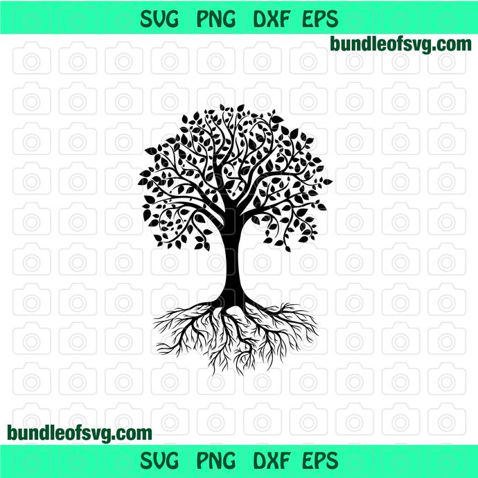 Yoga Tree of Life SVG Mandala Tree svg Yoga svg Tree Life svg eps png dxf