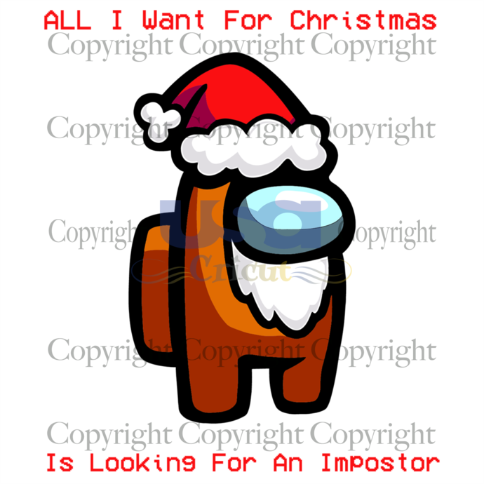 All I Want For Christmas Is Looking For An Impostor Svg, Trending Svg, Who Is