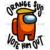 Orange sus vote him out, trending svg, among us svg, vote orange out, among us