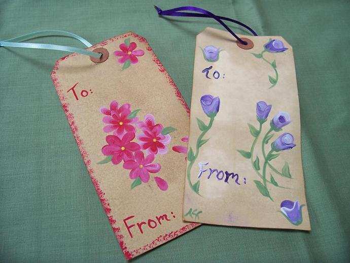 Floral All Occasion Gift Tags