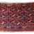 Handmade antique Turkmen Tekke Torba rug 1' x 2' ( 30cm x 63cm) 1860s - 1B602