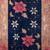 Handmade antique Art Deco Chinese rug 2' x 4.1' ( 61cm x 124cm ) 1920s - 1B608