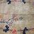 Handmade antique Art Deco Chinese rug 4.1' x 6.7' ( 125cm x 204cm ) 1920s -