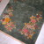 Handmade antique Art Deco Chinese rug 2.10' x 4.10' ( 89cm x 150cm ) 1920s -