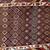 Handmade antique Northwest Persian rug 4.2' x 9.1' ( 128cm x 277cm ) 1880s -
