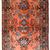 Handmade antique Persian Lilihan rug 3.2' x 4.10' ( 97cm x 150cm ) 1920s - 1B666