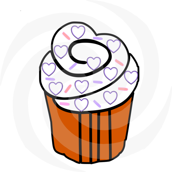 CupCake 53-Digital ClipArt-Party-Art Clip-Gift