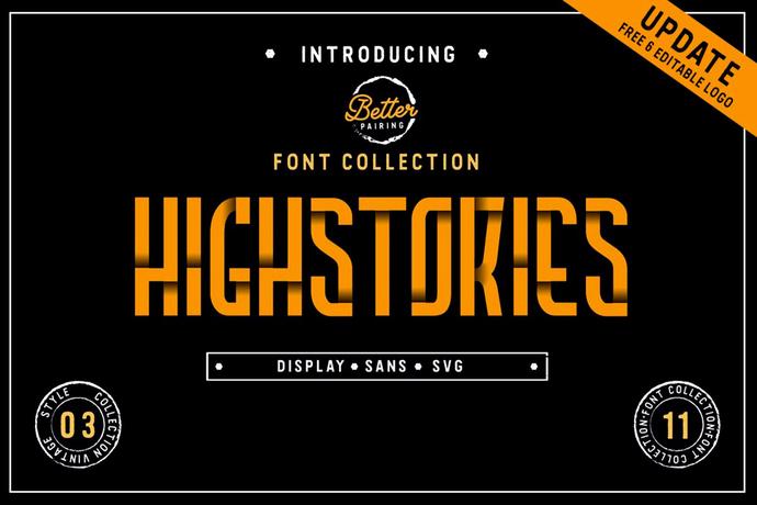 Premium Font, Font Collection, Handcrafted Font, Retro Font, Colourfont, Stylish