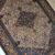Handmade antique Persian Bibikabab rug 3.3' x 5.2' (100cm x 158cm) 1920s - 1B672