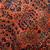 Handmade antique Persian Sarouk rug 3.2' x 5.3' ( 97cm x 161cm) 1920s - 1B674