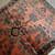 Handmade antique Persian Lilihan rug 3.5' x 5.4' ( 106cm x 164cm ) 1920s - 1B676