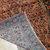 Handmade antique Persian Sarouk rug 3.1' x 5.2' (94cm x 158cm) 1920s - 1B677