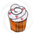 CupCake 54-Digital ClipArt-Party-Art Clip-Gift