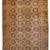 Handmade antique Uzbek Khotan rug 6.2' x 12.10' ( 189cm x 394cm ) 1900s - 1B681