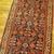 Handmade antique Persian Malayer runner 3.1' x 12.3' ( 94cm x 375cm ) 1900s -