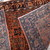 Handmade antique Persian Sarouk rug 2.1' x 3.10' ( 64cm x 119cm ) 1920s - 1B691