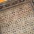Handmade antique Persian Tabriz Hajalili rug 4.2' x 6.5' ( 128cm x 198cm ) 1880s