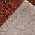 Handmade antique Persian Sarouk rug 3.3' x 5.4' ( 100cm x 164cm ) 1920s - 1B695