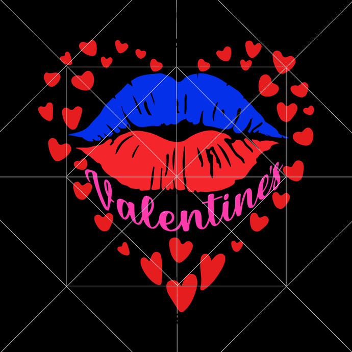 Lips Valentines Svg, Valentine Svg, Valentine vector, Lips Svg, Lips Png, Love