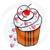 CupCake 59-Digital ClipArt-Party-Art Clip-Gift