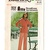Butterick 3881 Misses Pullover Top, Pants 70s Vintage Sewing Pattern Size 14