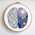 Cosmos Anatomy set cross stitch pattern humans heart brain lungs Science cross