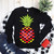 Love Pineapple Svg, Heart Pineapple Svg, Valentine Svg, Valentine vector, Love