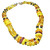 Baltic Amber Bead Necklace, Multiple Colors and Shapes, Collar Style Beaded
