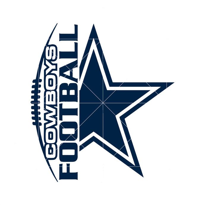Dallas Cowboys Logo Svg, Dallas Cowboys Clipart, NFL Football Team, NFL Cowboys
