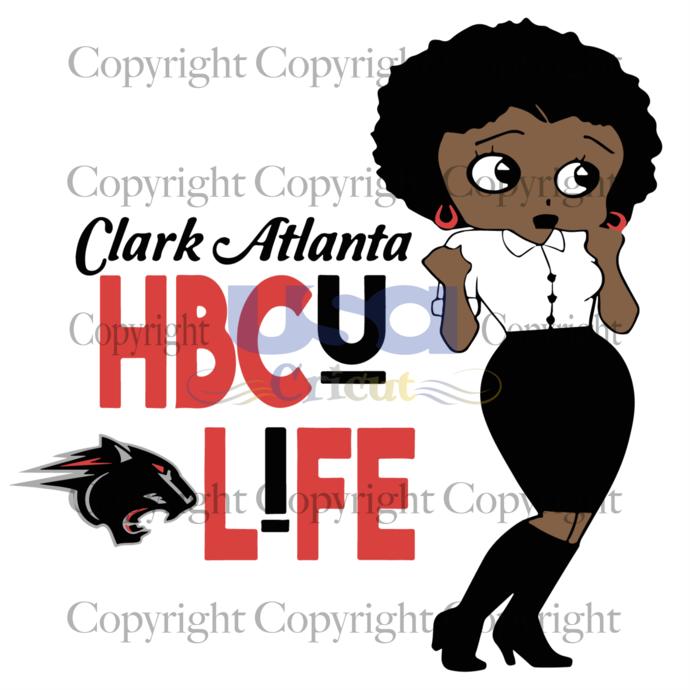 HBCU Life Clark Atlanta University, University, Clark Atlanta Svg, Clark Atlanta