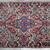Handmade antique Persian Kerman rug 2.2' x 4.1' ( 67cm x 125cm ) 1910s - 1B705