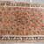 Handmade antique Persian Sarouk rug 5.2' x 8.3' ( 158cm x 253cm ) 1920s - 1B707