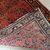 Handmade antique Persian Sarouk runner 3.2' x 7.10' ( 97cm x 241cm ) 1900s -