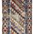 Handmade antique distressed Caucasian Gendje rug 3.2' x 8.10' (97cm x 272cm)