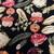 Handmade antique American Hooked rug 4.10' x 8.1' (150cm x 247cm) 1910s - 1B728