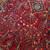 Handmade antique Persian Sarouk rug 3.6' x 5.3' (109cm x 161cm) 1920s - 1B730