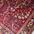 Handmade antique Persian Sarouk rug 3.2' x 5.3' (97cm x 151cm) 1920s - 1B736