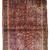 Handmade antique Persian Sarouk rug 3.5' x 5.3' (106cm x 161cm) 1920s - 1B742