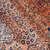 Handmade antique Persian Sarouk rug 3.6' x 5.4' (109cm x 164cm) 1920s - 1B747