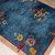 Handmade antique Art Deco Chinese rug 4.1' x 6.10' (125cm x 211cm) 1920s - 1B752