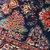 Handmade antique Persian Hamadan rug 2.5' x 3.8' (76cm x 116cm) 1920s - 1B757